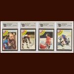 Lot of (4) 1978-79 OPC New York Rangers Autographed Cards – GAI Certified