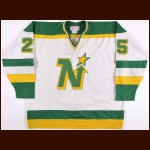 1979-80 Al MacAdam Minnesota North Stars Game Worn Jersey - Career Best 42-Goal 93-Point Season - Bill Masterton Memorial Trophy - The St. Paul, Minnesota Collection
