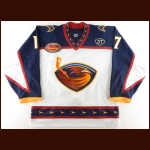 "2003-04 Ilya Kovalchuk Atlanta Thrashers Game Worn Jersey – ""5-year Anniversary"" – Dan Snyder ""37"" – Rocket Richard Trophy – 1st All Star Season – 2nd Team NHL All Star – Photo Match"