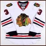 Dustin Byfuglien Chicago Blackhawks Autographed Authentic Jersey
