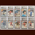 1978-79 OPC Autographed Card Group of (10) – All GAI Certified