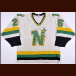 1985-86 Tony McKegney Minnesota North Stars Game Worn Jersey