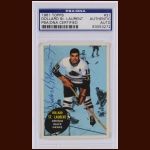 Dollard St. Laurent 1961 Topps – Chicago Blackhawks - Autographed – Deceased – PSA/DNA