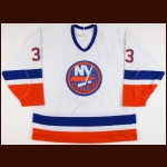 1991-92 Ray Ferraro New York Islanders Pre-Season Game Worn Jersey - All Star Season - 40-Goal Season