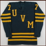 1960's University of Vermont Game Worn Jersey – Player #7