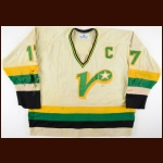 1983-84 John Tortorella Nashville South Stars/Virginia Lancers Game Worn Jersey