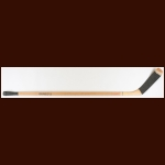 Bobby Hull Chicago Blackhawks Gunzo's Game Used Stick – Banana Curve – Autographed - Brett Hull Letter