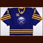 2006-07 Patrick Kaleta Buffalo Sabres Game Worn Jersey – Rookie- Alternate