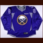 2014-15 Cody McCormick Buffalo Sabres Warm Up Jersey - Hockey Fights Cancer – Team Letter