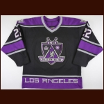 1998-99 Ian Laperriere Los Angeles Kings Game Worn Jersey