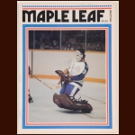 Toronto Maple Leafs Magazine/Program – February 7, 1976 – Darryl Sittler's NHL Record 10-Point Night