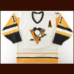 "1989-90 John Cullen Pittsburgh Penguins Game Worn Jersey – ""41st NHL All Star"""