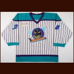 1998-99 Derek Beuselinck Madison Monsters Game Worn Jersey