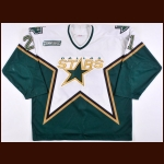 1999-00 Guy Carbonneau Dallas Stars Game Worn Jersey - The Guy Carbonneau Collection - Photo Match – Guy Carbonneau Letter