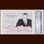 Frank Dilio Autographed Card - The Broderick Collection - Deceased