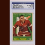 Forbes Kennedy 1959 Topps – Detroit Red Wings – Autographed - Deceased – PSA/DNA