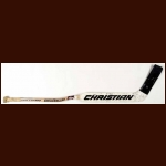 Andy Moog Dallas Stars Christian Game Used Stick - Curtis Curve