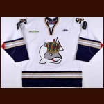 2010-11 Garth Murray Victoria Salmon Kings Game Worn Jersey – ECHL Letter