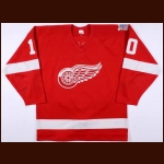 "1985-86 Ron Duguay Detroit Red Wings Game Worn Jersey – ""60-year Anniversary"""