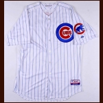 2012 James Russell Chicago Cubs Game Worn Jersey – MLB Hologram