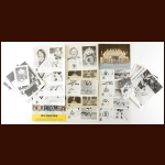 Boston Bruins Autographed Group of (36) – Includes Deceased and 1971-72 and 1976 Team Photos