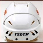 Dave Lowry Calgary Flames Itech Game Worn Helmet