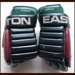 Claude Lemieux Coyotes Game Worn Gloves