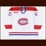 1999-00 Christian Laflamme Montreal Canadiens Game Worn Jersey