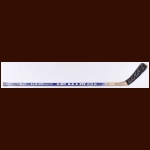 Kirk Muller New Jersey Devils Blue Chimo Game Used Stick  - Autographed