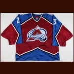1996-97 Brent Severyn Colorado Avalanche Game Worn Jersey