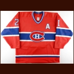 1990's Guy Carbonneau Montreal Canadiens Pre-Season Game Issued Jersey – Team Letter
