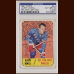 Harry Howell 1967 Topps - New York Rangers - Autographed - PSA/DNA