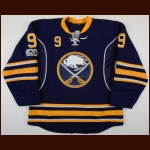 2016-17 Evander Kane Buffalo Sabres Game Worn Jersey - Photo Match – Team Letter