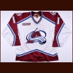 1999-00 Chris Dingman Colorado Avalanche Game Worn Jersey