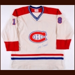 1977-78 Serge Savard Montreal Canadiens Game Worn Jersey - Stanley Cup Season - All Star Season