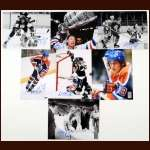 Lot of (7) Wayne Gretzky Autographed Photos - WG Authentics - Lot Also Includes (2) Gretzky Photos Which Are Not Autographed