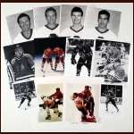 Lot of 125 Chicago Blackhawks B&W and Color photos Mostly from the 1991-92 Season