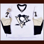 "2007-08 Evgeni Malkin Pitsburgh Penguins Game Worn Jersey – ""Pittsburgh 250"" - Sophomore Season - 1st Team NHL All Star - Hart Trophy Runner-Up - Photo Match – Team Letter"