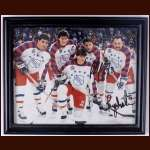 Paul Coffey and Brian Trottier 1991-92 All Star Autographed Photo