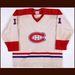 1976-77 Yvon Lambert Montreal Canadiens Game Worn Jersey - Stanley Cup Season - Photo Match