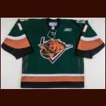 2010-11 Jean-Philippe Lamoureux Utah Grizzlies Game Worn Jersey – Team Letter
