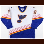 1997-98 Chris McAlpine St. Louis Blues Game Worn Jersey
