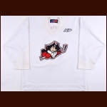 2002-03 Jonathan Zion Portland Pirates Pre-Season Game Worn Jersey
