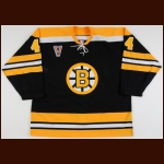 "2003-04 Nick Boynton Boston Bruins Game Worn Jersey – ""V"" - Vintage"