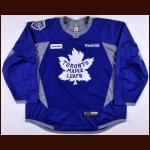 2014 Toronto Maple Leafs Winter Classic Practice Worn Jersey