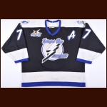"1998-99 Chris Gratton Tampa Bay Lightning Game Worn Jersey – ""1999 Tampa Bay NHL All Star"""