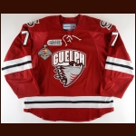"2013-14 Ben Harpur Guelph Storm Game Worn Jersey – ""2014 London Memorial Cup"" - Photo Match"