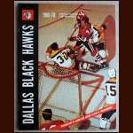 1969-70 Dallas Black Hawks Official Playing Guide