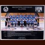 Jaromir Jagr's Personal Copy of the Team Photo From the 1996 All Star Games Eastern Conference - Brian Burke Letter