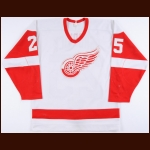 1984-85 John Ogrodnick Detroit Red Wings Game Worn Jersey - 55-Goal & 105-Point Season - 1st Team NHL All Star